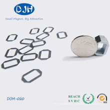 Small Size Sintered Racetrack Shape Neodymium Magnet NdFeB Magnet