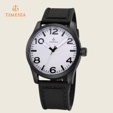 Mens-Legierungs-Sport-Uhr-Art- und Weisesilikon-Band-Quarz-Armbanduhr 72381