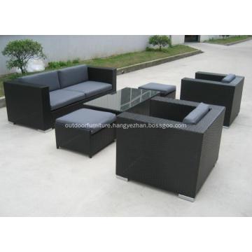 Plastic Wicker Garden Modern Leisure Sofa Furniture