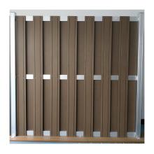 WPC Basic Fence Wood Plastic Composite Fence FS-01