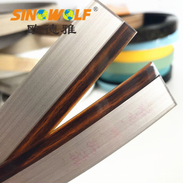 Acryl Kantenanleimmaschinen 3D Woodgrain Edge Tapes