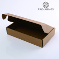 Brown kraft paper cardboard shipping box