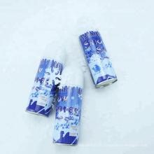 jet de neige coloré