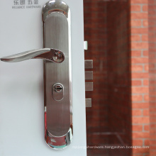 Professional 304 stainless steel door lock with fatigue times text with high security type