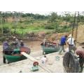 JXSC Economical 1200mm Rock Gold Mining Grinding Machine Wet Pan Mill