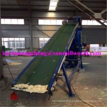 Machine de mise en balles hydraulique verticale de doseur de rasage de bois