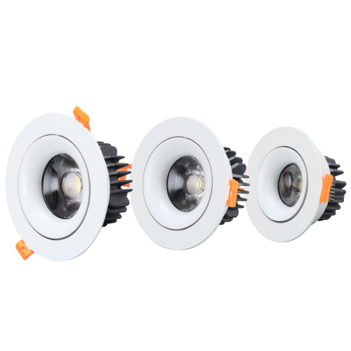 30w COB Empotrable Led Downlight Round Down Light