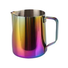 Copo de leite arco-íris de aço inoxidável de qualidade alimentar