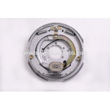 Complete 12''x2'' electric brake assembly for trailer (back plate surface treatment:Dacromet)