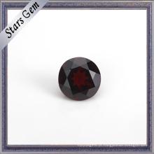 Gemstone natural da grandada da venda quente redonda para a joia