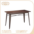 QinTai Furniture wood rectangle dining table fashion design