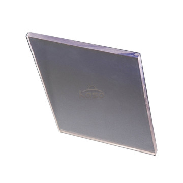 Panel polycarbonat Uv-coated præget ark