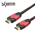 СИПУ высокой скорости Ethernet позолоченные кабель HDMI 2.0 4к для HDTV