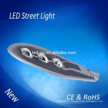 50W 100W 150W LED Street Light avec assurance commerciale