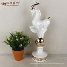 Смолы статуя антилопы украшения дома