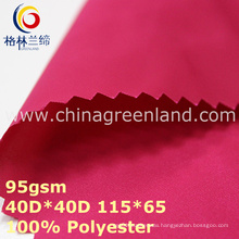 Light Twill Polyester Memory Fabric for Textile (GLLML349)