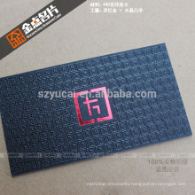 Offset printing letterpress luxury recycled business card printer
