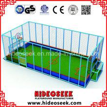 Hallenfußball oder Basketballplatz