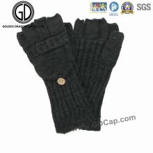 Gant 100% Acrylique Fingerless Knitted Warm