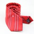 Venda quente gravata magro gravata de seda