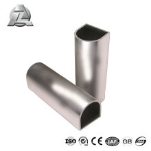 Modern durable 6063 china alloyed aluminum profile half round
