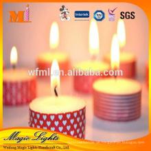 Herstellen Sie populäre neue personalisierte handgemachte klare religiöse Kerze