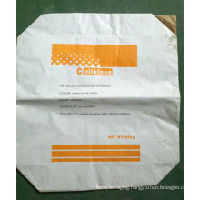 25kg Cellulose Kraft Paper Valve Bag