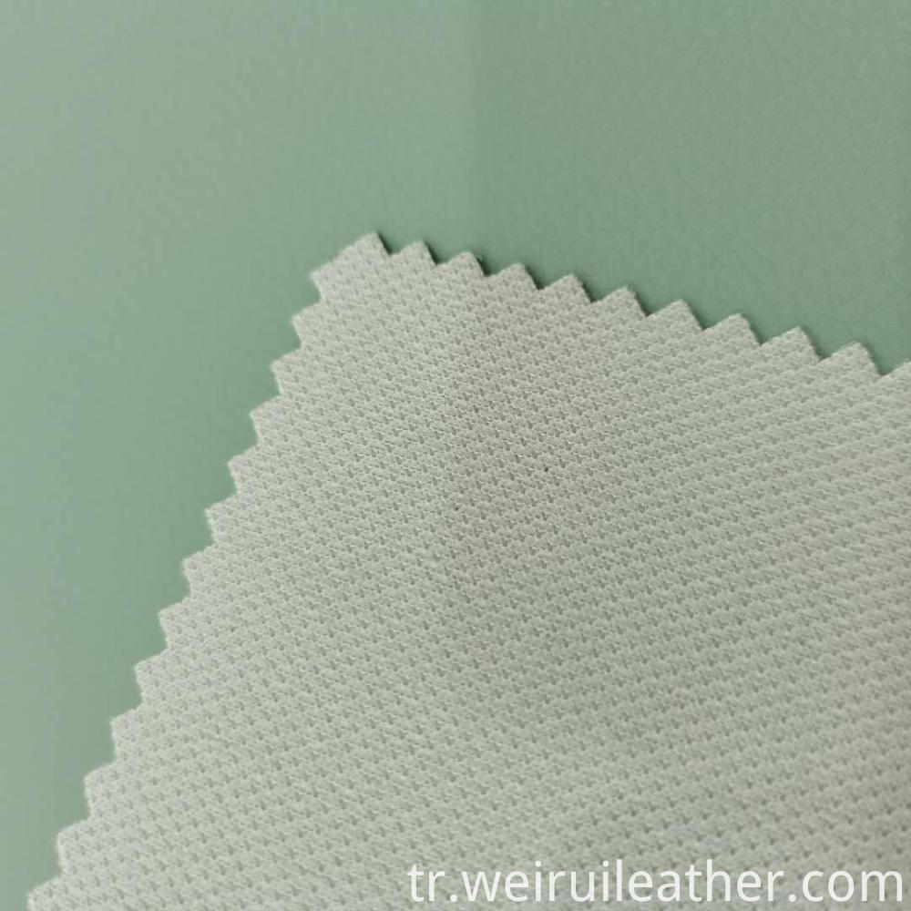 Clear Lines Mint Green Pvc Leather