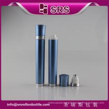 SRS China empty eye cream vibrating roller ball bottle for sale