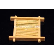Saucer hecho a mano del té del bambú