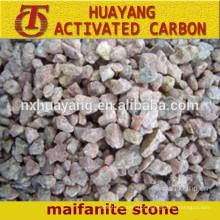 pedra de maifanite de baixo preço / pedra médica para tratamento de água / capacidade de adsorção alta pedra maifanita