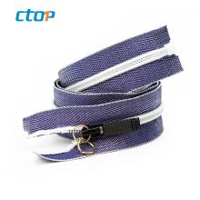 Fancy bag handbag accessory clips mattresses machines gold metal zipper zippers custom invisible zipper for jeans