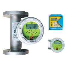 Medidor de caudal rotámetro de água de área variável