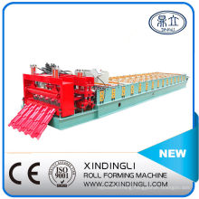 Nigeria Style Glazed Roofing Tiles Sheet Forming Machine