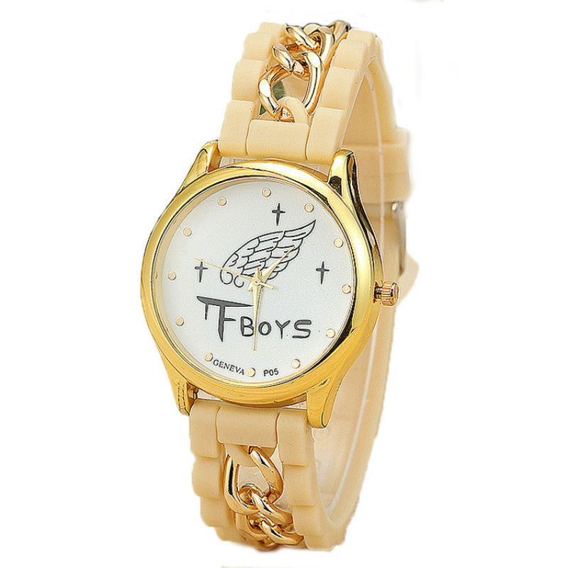 2016 New Arrival Children Lovely Silicone Snack Watches