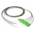 SC APC 0.9mm 12 Cores Fiber Optic Pigtail