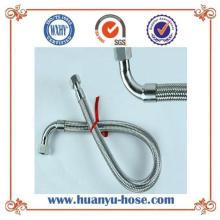 Tubo metálico de acero inoxidable con junta flexible de flexión