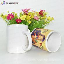 Sunmeta sublimation coating liquid mugs ,Sublimation mugs 11oz white