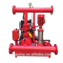500GPM 8bar fire pump set ,pump fire,diesel and electric fire pump with jockey pump