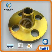 Bride forgée de cou de soudure d'acier au carbone ANSI DIN (KT0256)
