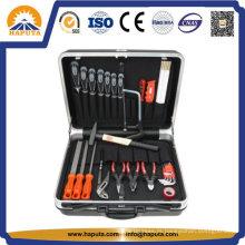 Caixas de ferramentas de mala de ABS preta profissional (HT-5013)