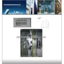 Couteau de porte d'ascenseur, palette de porte d'ascenseur, porte d'ascenseur