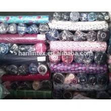 many designs reactive printed cotton flannel fabric in stock