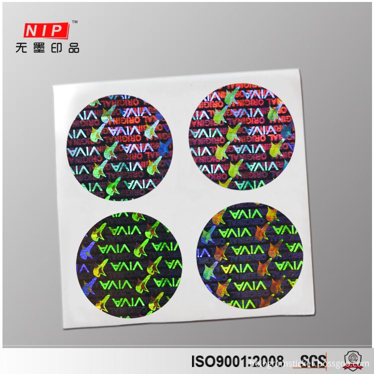 Tamper Proof Hologram Stickers