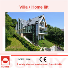 Vvvf Variable Frequency Driving, Quiet Running and Accurate Leveling Home Lift