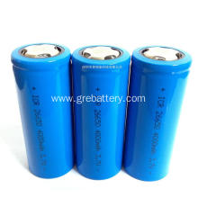 3.7V 4000mAh one lithium ion battery cell