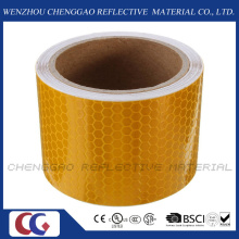 Solid Yellow Caution Reflective Warning Tape for Taffic Sign (C3500-OXY)