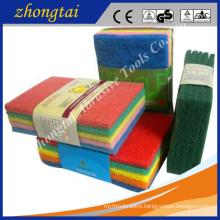 abrasive scouring pad for metal grinding polishing , daily washing