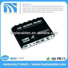 Digital Dolby DTS AC3 Optical to 5.1 Analog Audio Gear Sound Decoder