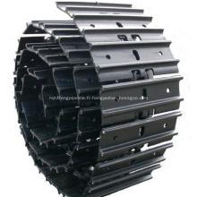 SK210-8 Ensemble de maillon de voie d'excavatrice, assemblage de maillon de patin de chenille, YN60D00061F2, SK80SR, SK90UR, SK100, SK120, SK135SR, SK235SR, SK350,